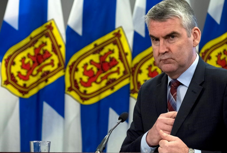 Nova Scotia Premier Stephen McNeil,