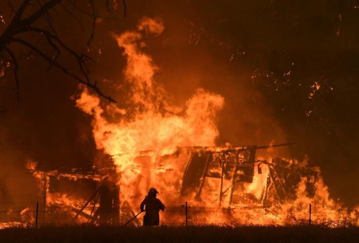 NSW Rural Fire Service, Gospers Mountain Fire,