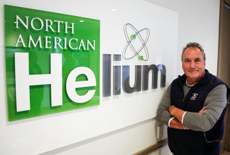 Marlon McDougall, North American Helium,