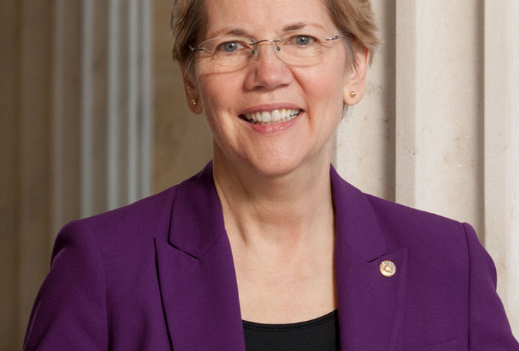 113th Congressional Portrait, Democratic Senator, Elizabeth Warren, Massachusetts,