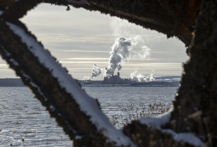Northern Pulp mill, Abercrombie Point, N.S.,
