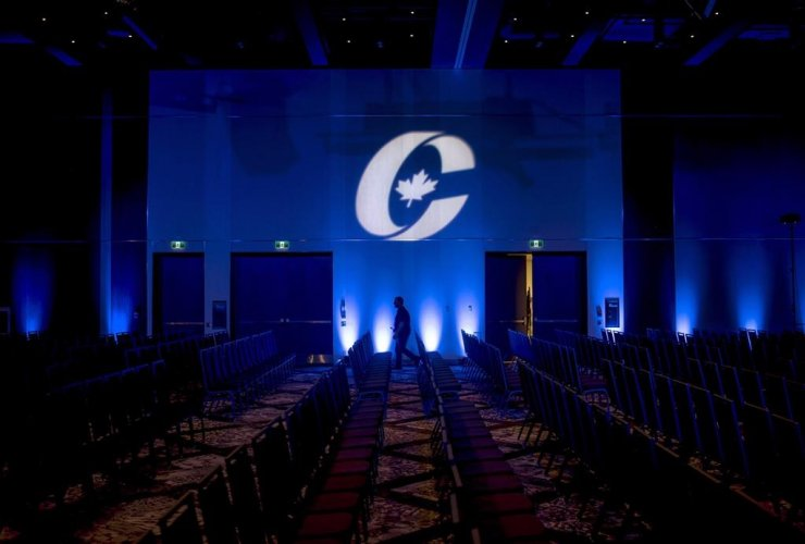 Conservative Party logo,