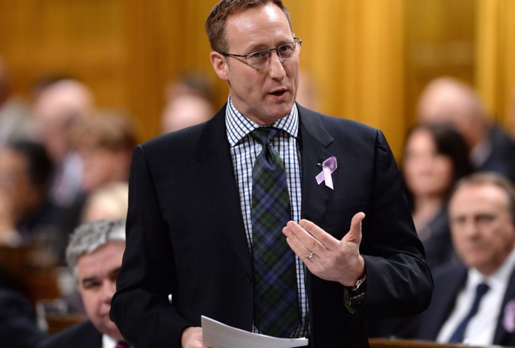 Justice Minister Peter MacKay,