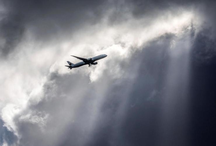 Air Canada plane,