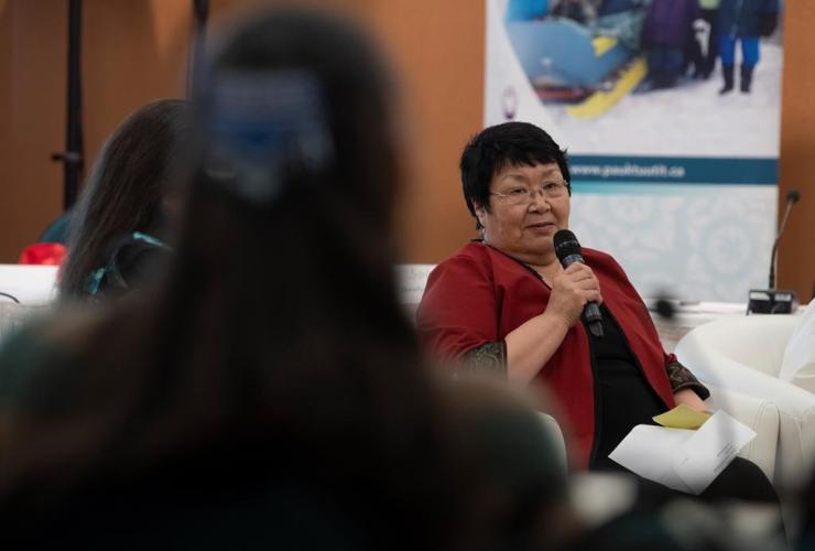 Rebecca Kudloo, President of the Pauktuutit Inuit Women of Canada,