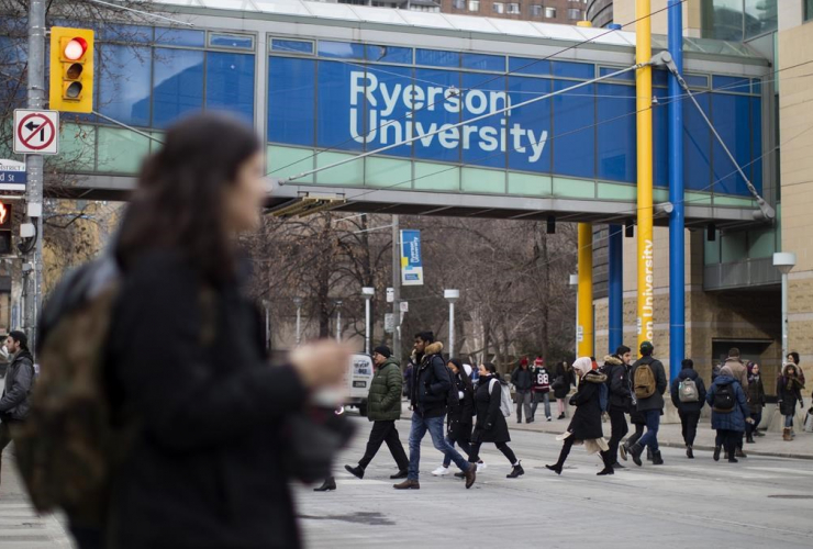 Ryerson University campus, Toronto,