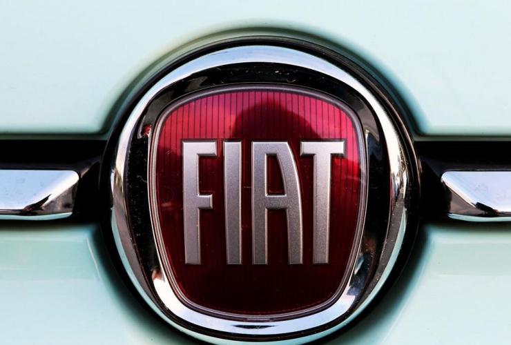Fiat logo,