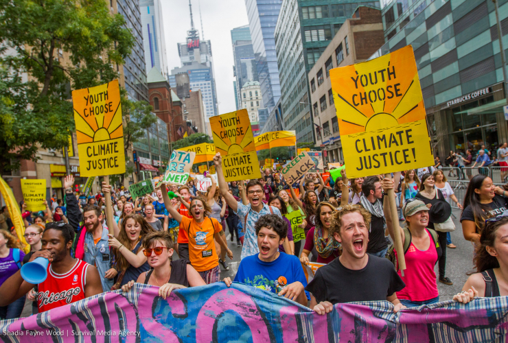 New York City Climate March. Photo credit: Shadia Fayne Wood survivalmediaagency.com