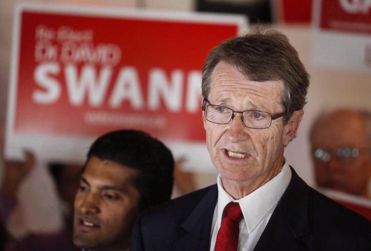 Alberta Liberal Leader David Swann,