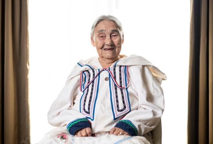 Inuk Elder Qapik Attagutsiak,