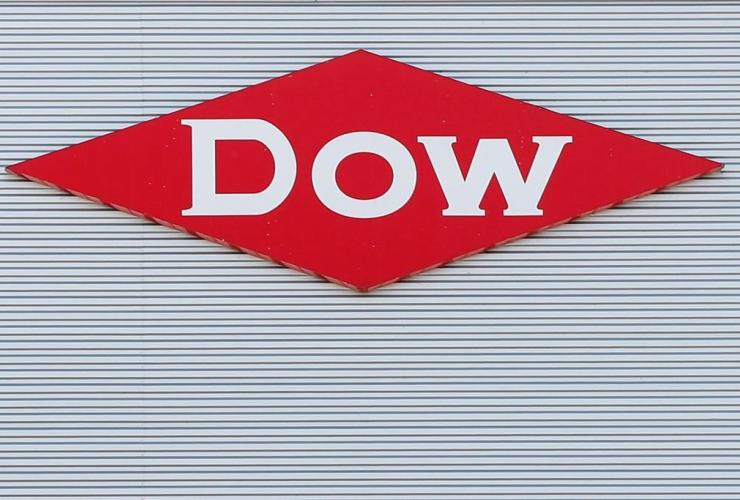 Dow company logo,