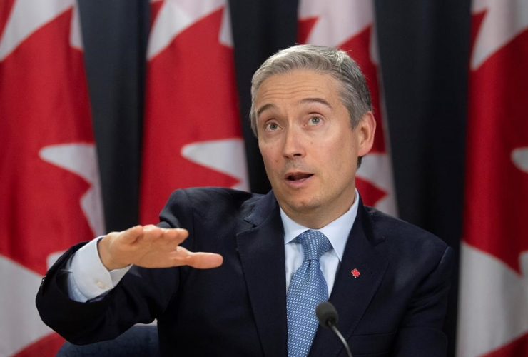 Foreign Affairs Minister Francois-Philippe Champagne,