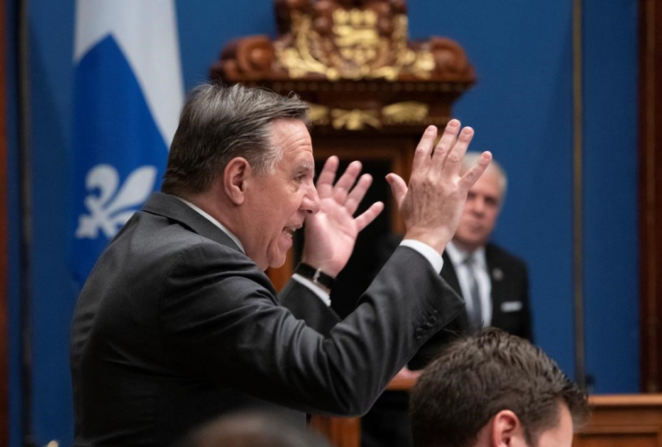 Quebec Premier Francois Legault,