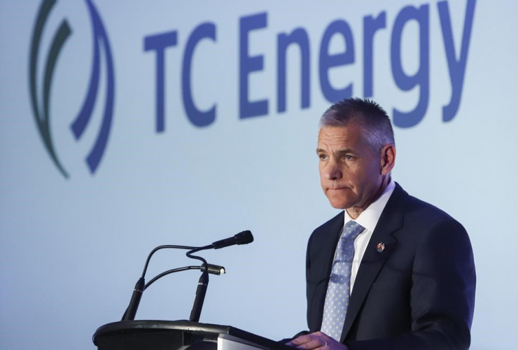 TransCanada president and CEO Russ Girling,