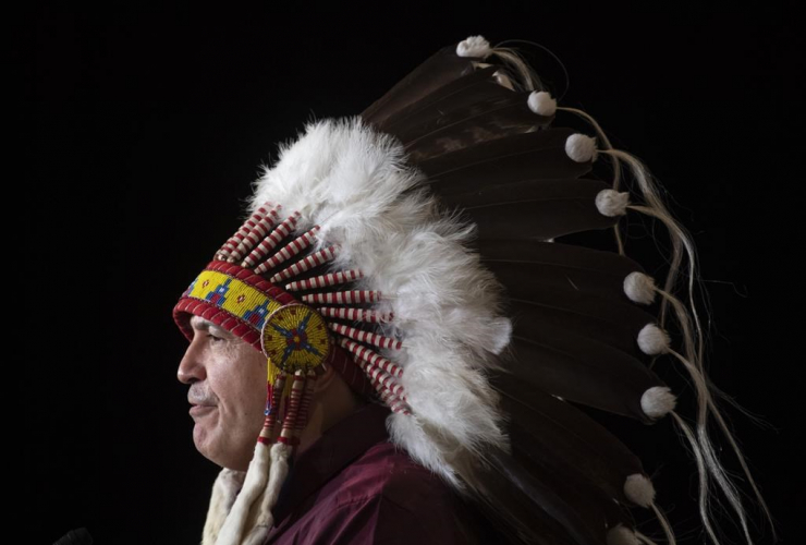 National Chief Perry Bellegarde,