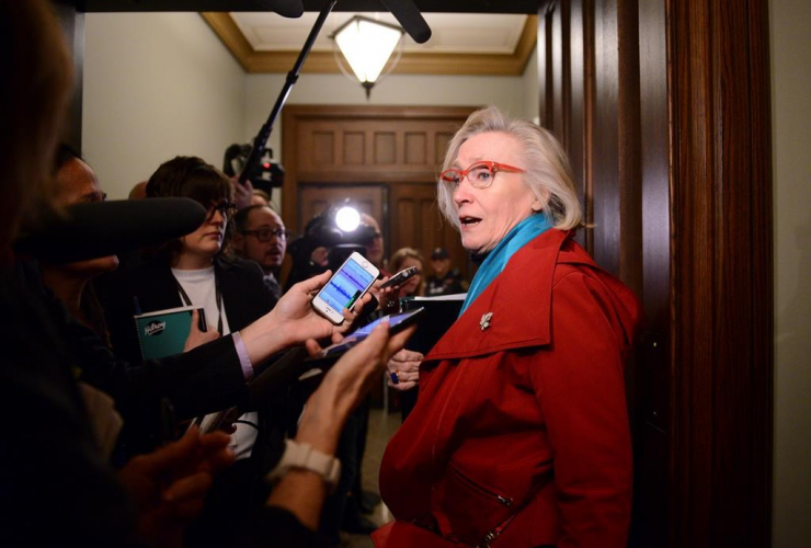 Minister of Crown Indigenous Relations Carolyn Bennett,