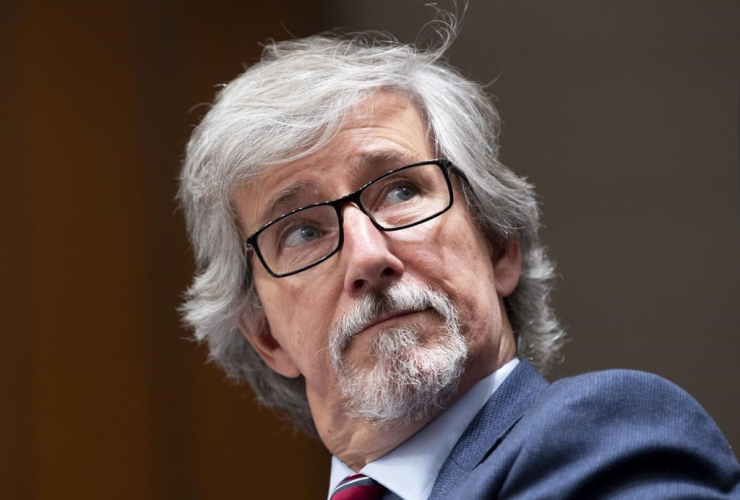 Privacy Commissioner Daniel Therrien,