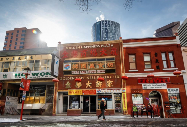 Chinatowns, Calgary, Alta.,