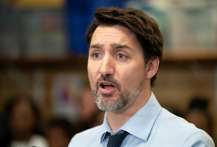 Prime Minister Justin Trudeau, The Boys and Girls Club of East Scarborough, Toronto,