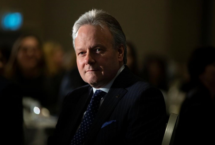 Bank of Canada governor Stephen Poloz,