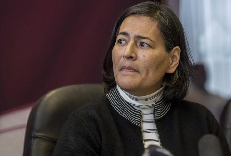 Missing and Murdered Indigenous Women Girls Commissioner Michele Audette,