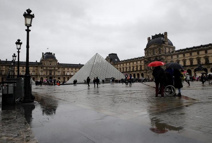 Louvre museum, Paris,