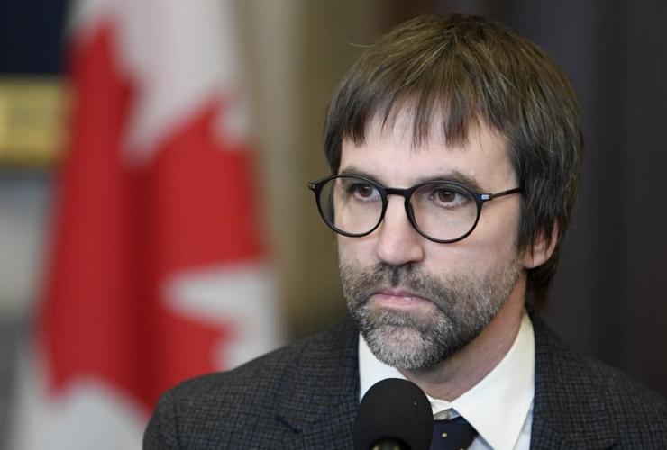 Minister of Canadian Heritage Steven Guilbeault,