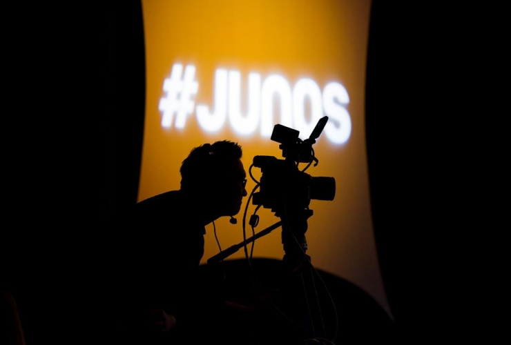 videographer, camera, Juno Award,