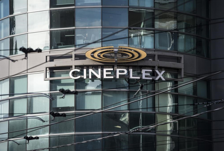Cineplex Odeon Theater, Dundas Square, Toronto,