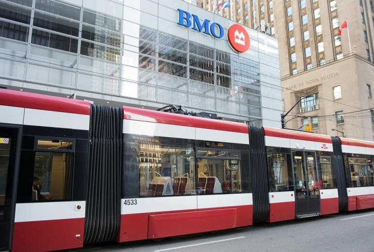 street car, King Street, Toronto,