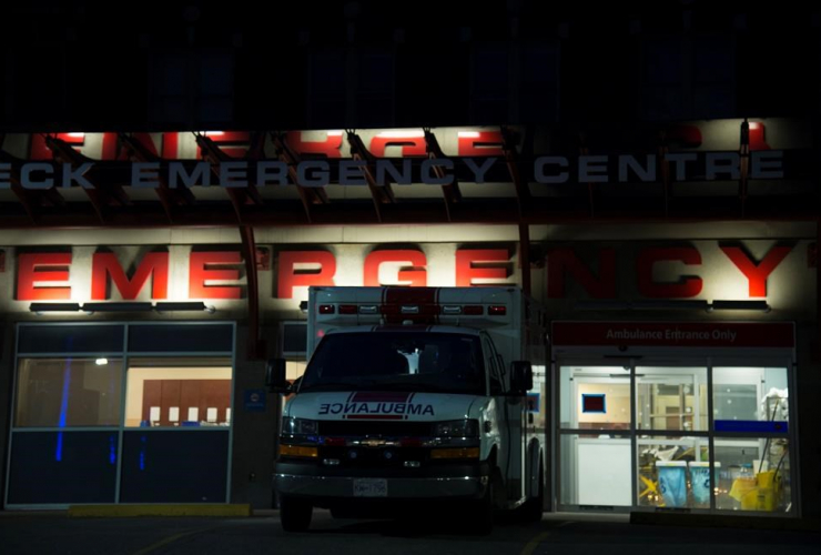 emergency department, St. Paul's hospital, Vancouver,