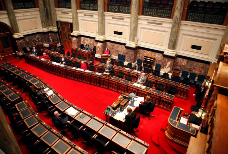 Premier John Horgan, legislative assembly, COVID-19 pandemic, Victoria, B.C.,