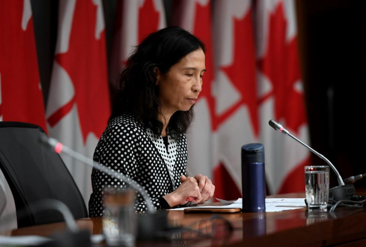 Chief Public Health Officer of Canada Dr. Theresa Tam,