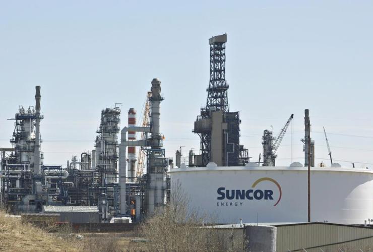 Suncor Refinery, Edmonton,