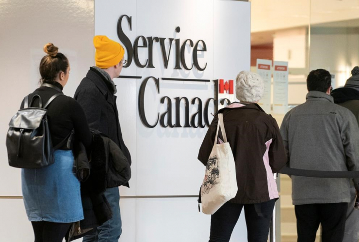 Service Canada office, Montreal,