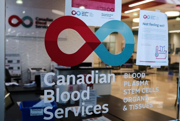 blood donor clinic, shopping mall, Calgary,