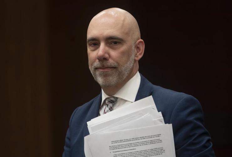 Parliamentary Budget Officer Yves Giroux,