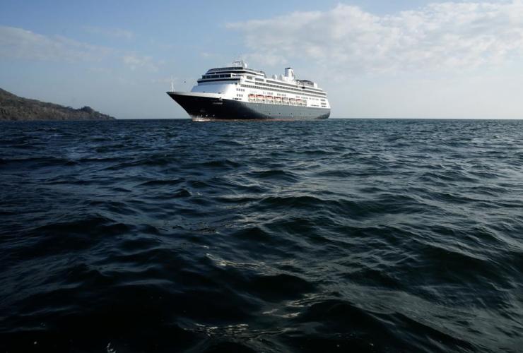 Zaandam cruise ship,