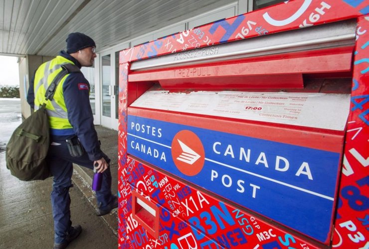Canada Post worker,