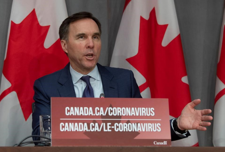 Minister of Finance Bill Morneau,
