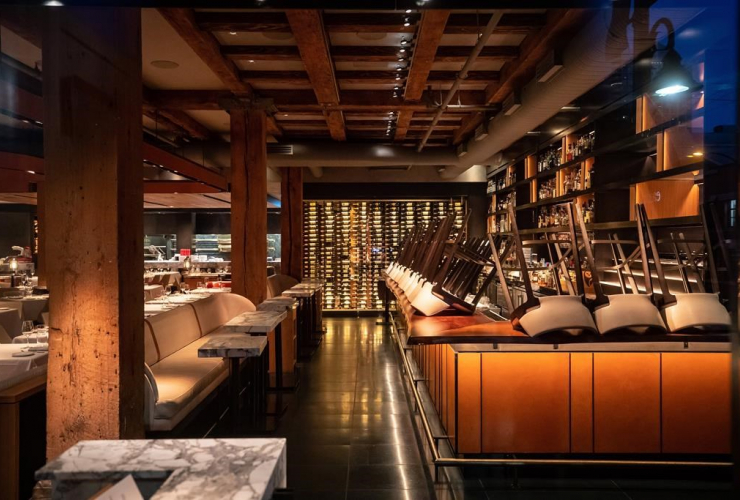 Chairs, bar, restaurant, coronavirus, Vancouver,