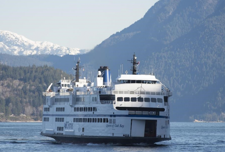 B.C. Ferry, Horseshoe Bay, West Vancouver,