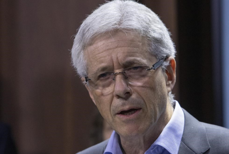 Dr. Sandy Buchman, President of the Canadian Medical Association,
