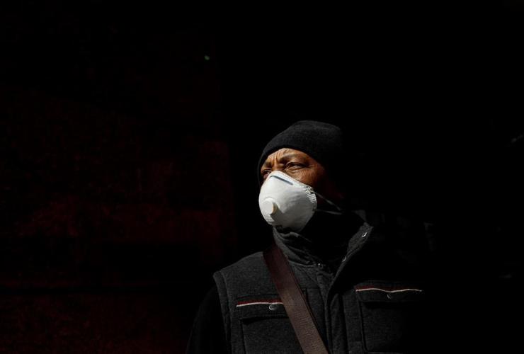 George Mutabazi, mask, COVID-19,