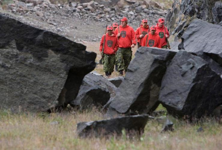 Canadian Rangers, Operation Nanook, Iqaluit, Nunavut,