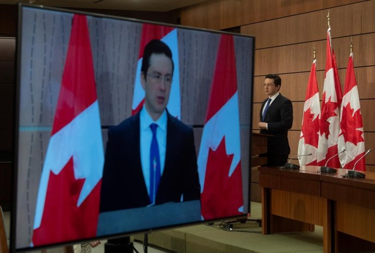 Conservative MP Pierre Poilievre,
