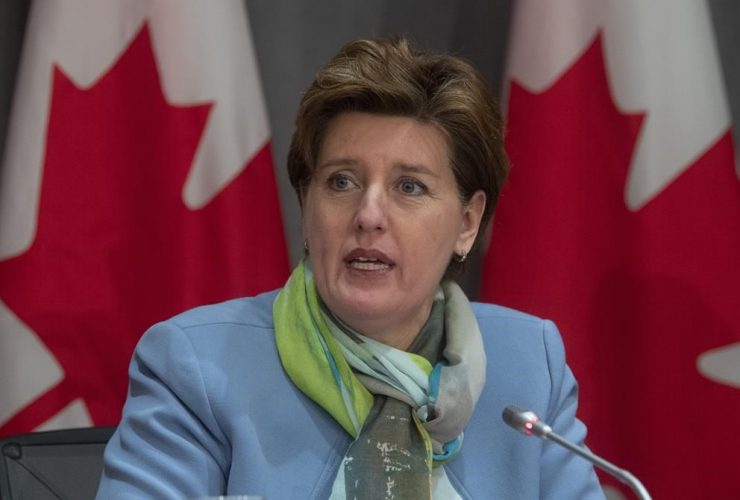 Minister of Agriculture and Agri-Food Minister Marie-Claude Bibeau,
