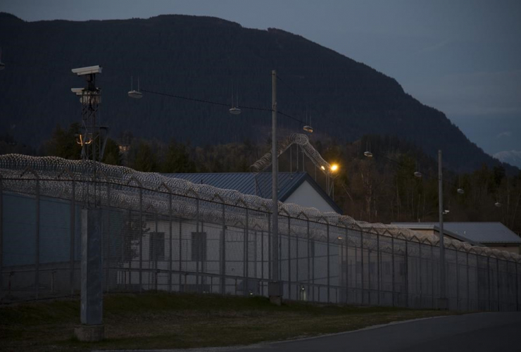Mission Correctional Institution, Mission, B.C.,