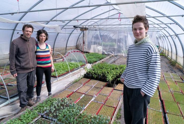 Francois Daoust, Melina Plante, Florence Lachapelle,