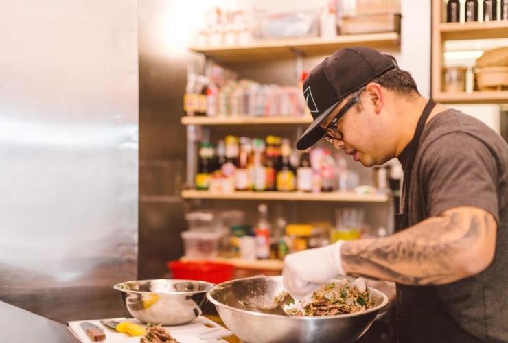 Chef Tang Phoonchai, Vancouver, Thai restaurant Kin Kao.